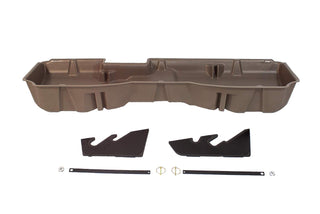 Du-ha Underseat Storage Gun Case 14-18 Gmc & Chevy Saddle Brown