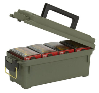 Plano Compact Shot Shell Field-ammo Box - O.d. Green