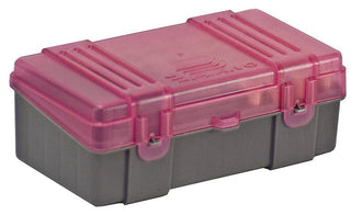 Plano 50 Count Small Handgun Ammo Case W Hinged Cover  Holds 9mm-380acp Caliber Bullets