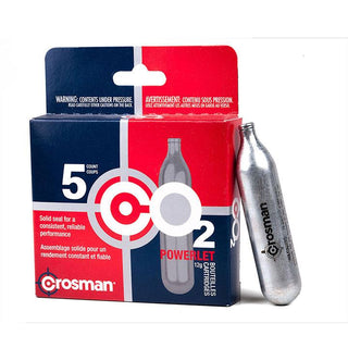 Crosman Powerlet 12g Co2 Cartridges 5 Count