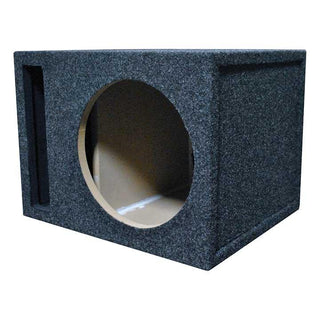 "Empty Woofer Enclosure Obcon Single 12"" Slot Vented;mdf"