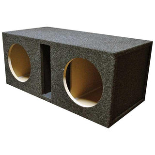 "Empty Woofer Enclosure Obcon Dual 10"" Slot Vented;mdf"
