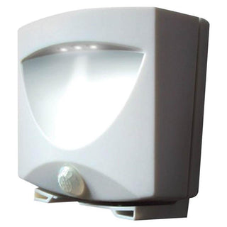 Maxsa Battery-powered Motion-activated Led Outdoor Night Light White