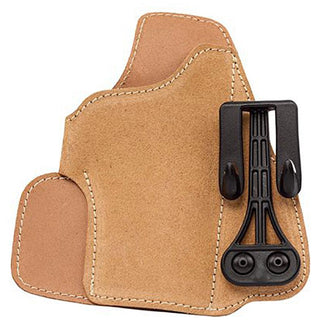 Blackhawk! Suede Leather Tuckable Holster-fits Glock 21- Sw Mp Compact Right Hand
