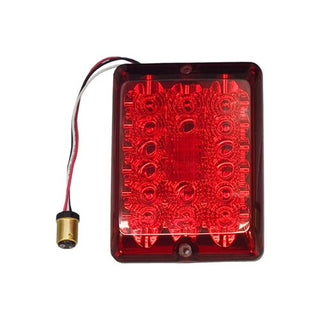 Bargman Led 84 Series Stop Tail Turn Light Lens Upgrade Module Red Connector  Lens Screws