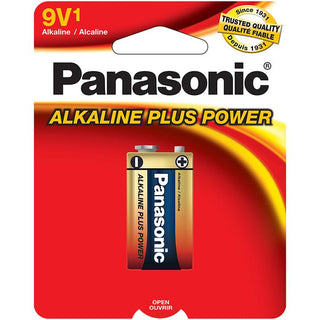 Panasonic 9-volt Alkaline Plus Power (single)