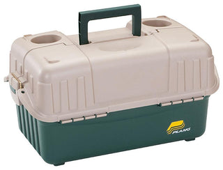Plano Hip Roof Tackle Box W-6 Trays - Green-sandstone
