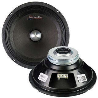 "American Bass 8"" Midrange With Neodymium Magnetm 400w Max Sold Each"