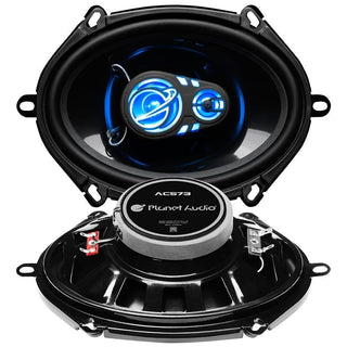 "Planet Audio 5x7""-6""x8"" 250 Watts Max 3 Eay Led Illuminated Tweeter"