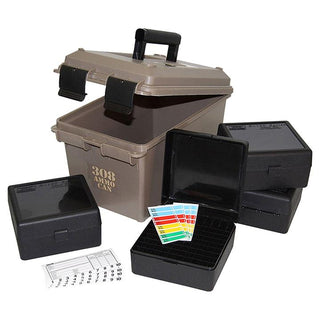 Mtm 308 Ammo Can For 400 Rd. Includes 4 Each Rm-100's Dark Earth