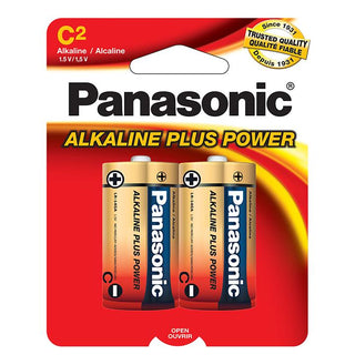 "Panasonic Alkaline Size ""c"" Plus Power (2-pack)"