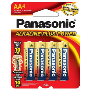 "Panasonic Alkaline Size ""aa"" Plus Power (4-pack)"