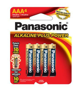 Panasonic Aaa4 Alkaline Plus Power