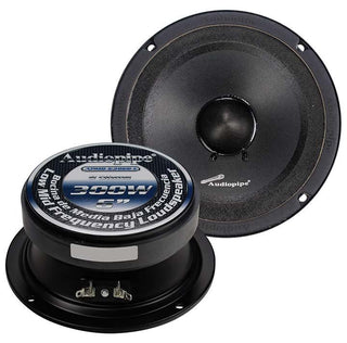 "Audiopipe 6"" Mid Range Loud Speaker (sold Each)"