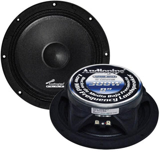 "Audiopipe 8"" Flat Loud Speaker(sold Each) 300w Max"