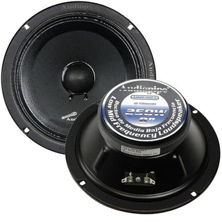 "Audiopipe 8"" Mid Range Speaker (sold Each)"