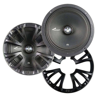 "Audiopipe 8"" Mid Bass 300 Watts Max With Grills Pair Packed"