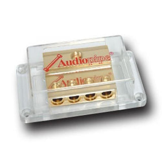 Distribution Block Audiopipe (1)0ga. In-(4) 4ga. Out