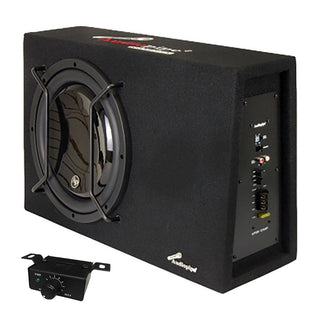 "Audiopipe Single 12"" Sealed Bass Enclosure 600w Max"