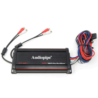 Audiopipe Marine 4 Channel Amplifier 1200w Max