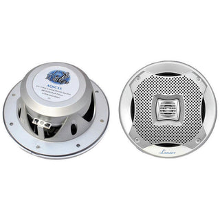 "Lanzar 6.5"" 2-way Marine Speakers 400w. Silver"