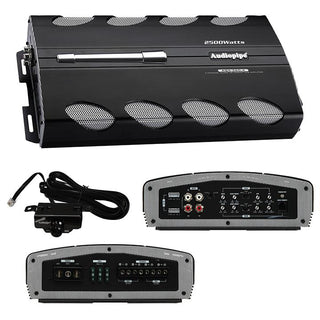 Amplifier Audiopipe 2500w 4ch Remote Bass Boost