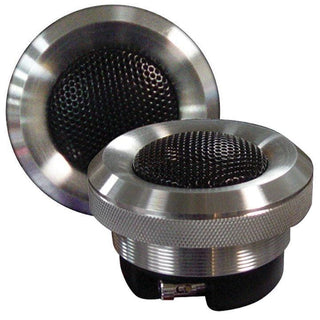 "Audiopipe 1"" Aluminum Titanium Tweeter (sold In Pairs)100w 4ohm"