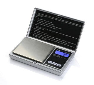 American Weigh Scales Signature Series Silver Aws-600-sil Digital Pocket Scale 600 By 0.1 G
