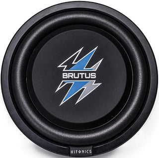 "Hifonics 10"" Brutus Series Shallow Subwoofer 400w Max 4 Ohm Dvc"
