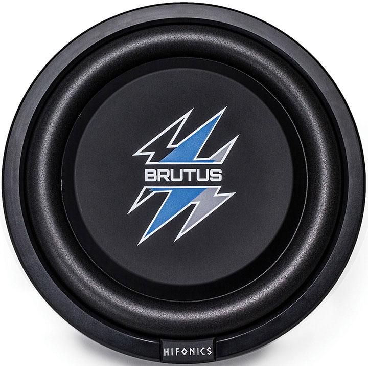 "Hifonics 8"" Brutus Series Shallow Subwoofer  400w Max 4 Ohm Dvc"