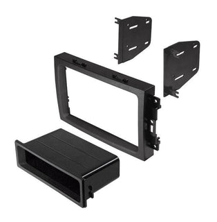 Fits Select 2004-08 Chrysler Dodge Jeep That Have  Built-in Navigation. Double Din W-pocket.