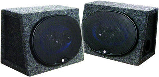 "Speaker Enclosure 6x9"" Loaded Xxx *pair Packed*"