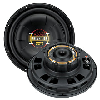 "Boss 12"" Shallow Mount Woofer 1000w Max 4 Ohm Svc"