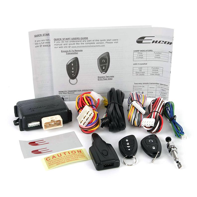 Encore Remote Start-keyless Entry With 2-way Confirmation