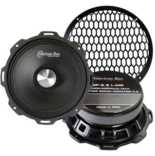"American Bass Godfather 6.5"" Mid-range 600 Watts Max 4 Ohm Sold Each"