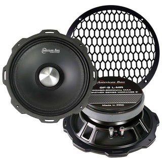 "American Bass Godfather 8"" Mid-range 800 Watts Max 4 Ohm Each"