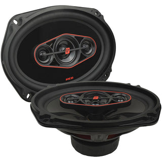 "Cerwin Vega Hed 6""x9"" 4-way Coaxial Speaker Set - 440w Max - 65w Rms"