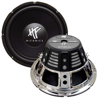 "Subwoofer 12"" Hifonics 800 Watts Max Dual 4 Ohm Voice Coil"