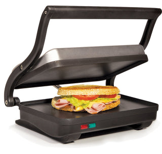 Holstein Housewares 2 Slice Griddle - Black