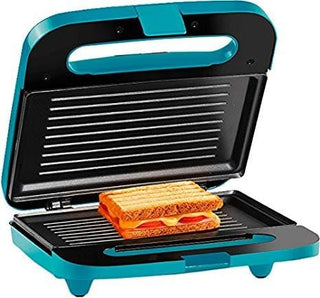 Holstein Housewares 2 Section Grilled Sandwich Maker Teal