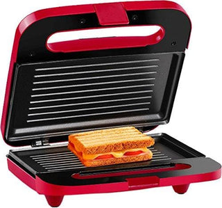 Holstein Housewares 2 Section Grilled Sandwich Maker Red