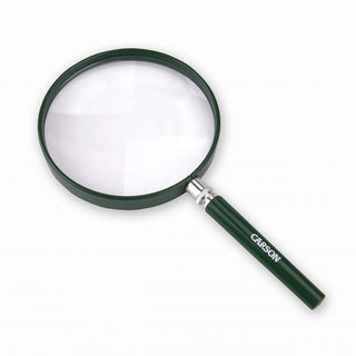 Carson 2x 5 Inch Acrylic Lens Hand Magnifier Outdoor Green