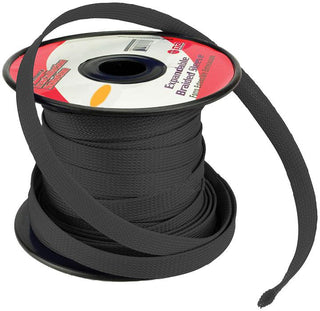 Installation Solution Expandable Braided Sleeve Black 3-4""