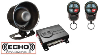 Car Alarm K9 (2) 4-button Rem.shock Sensor;data Port