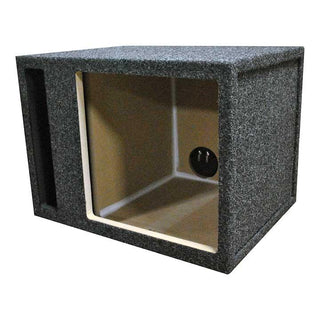 Empty Woofer Box; R-t Single 15 For Kicker L5+l7; Slot Vent