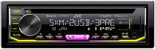 Jvc Single Din Cd Player Am-fm-cd-bt-usb Sat. Ready