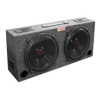 "Woofer Box Dual 8"" Xxx 2-way Loaded Angle Style; 250watts"