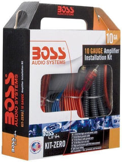 Boss Complete 10 Gauge Amplifier Installation Kit