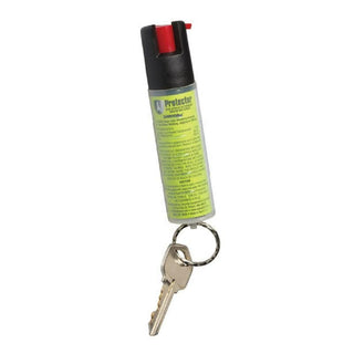Sabre Economy Key Chain Pepper Spray (.54 Oz.) - Black
