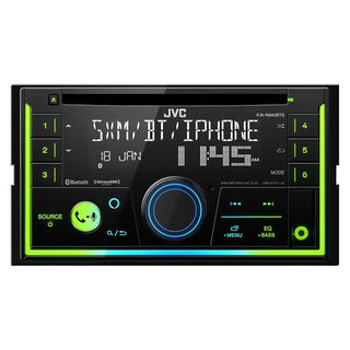 Jvc D.din Cd Player Am-fm-bt-sat Ready Usb-3.5 Input